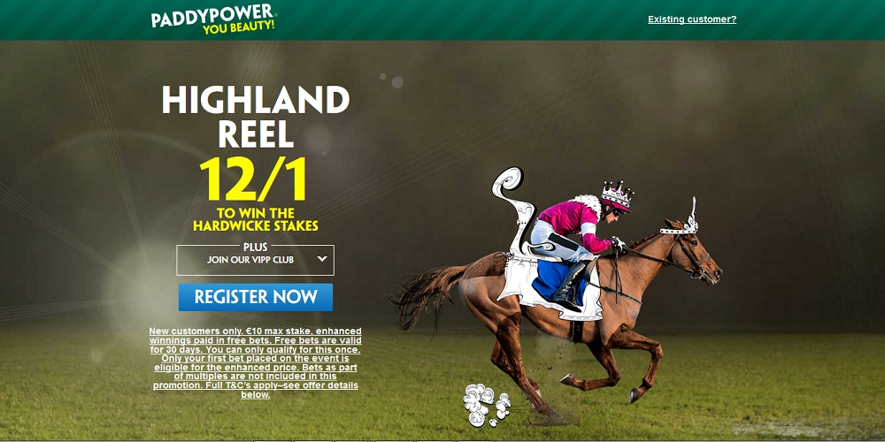Hardwicke Stakes: Get a Mighty 12/1 at Ascot on the Favourite Highland Reel