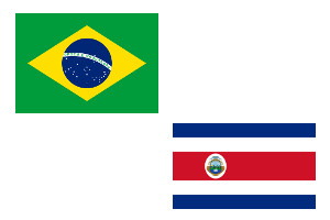 Brazil v Costa Rica: Join Coral for 33/1 Brazil to Score